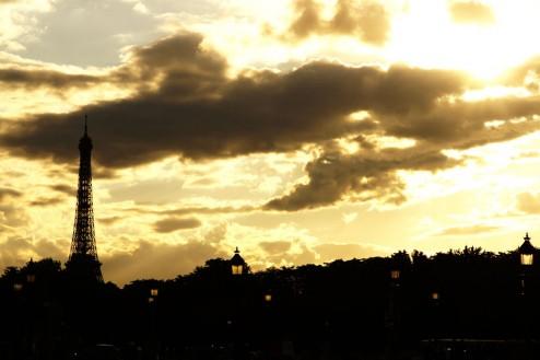 Parijs Eiffeltoren Place de la Concorde