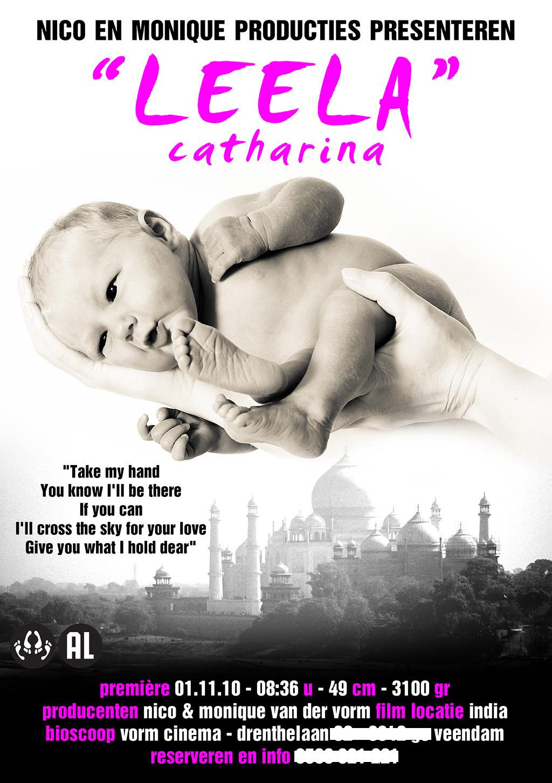 Onze Dochter Leela Catharina