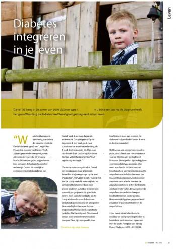 Niekfotografie Portret DiActueel Magazine Pagina 21
