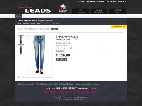 Leads Product Fotografie Webshop