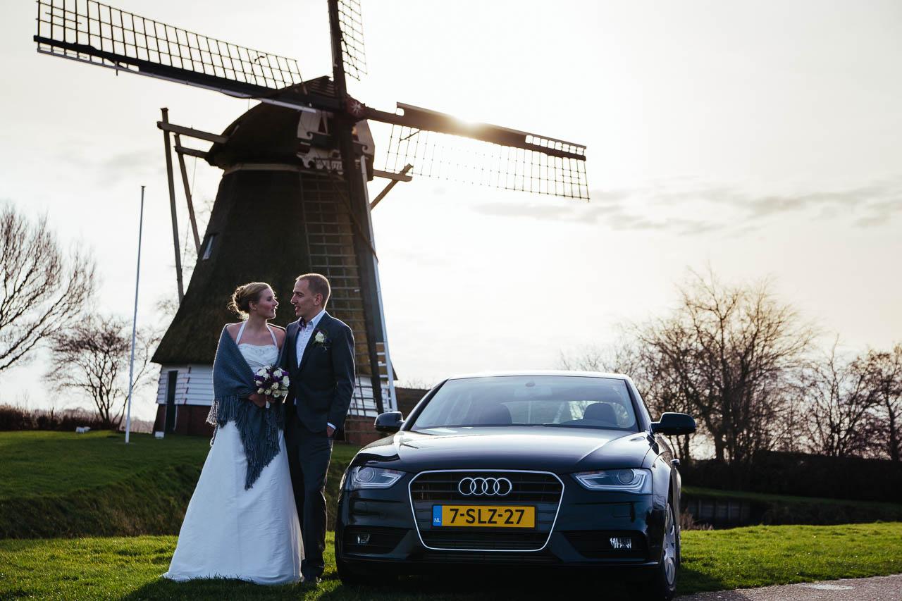 Ronald en Daphne - Trouwreportage Fraeylemaborg Slochteren Groningen