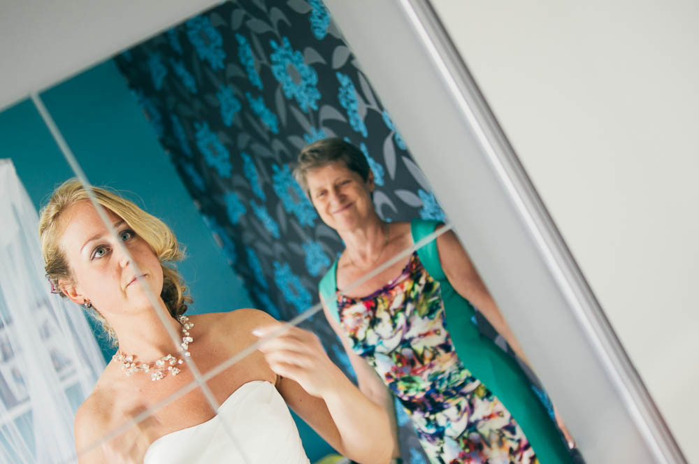 Spontane originele trouwfotos Mariska en André