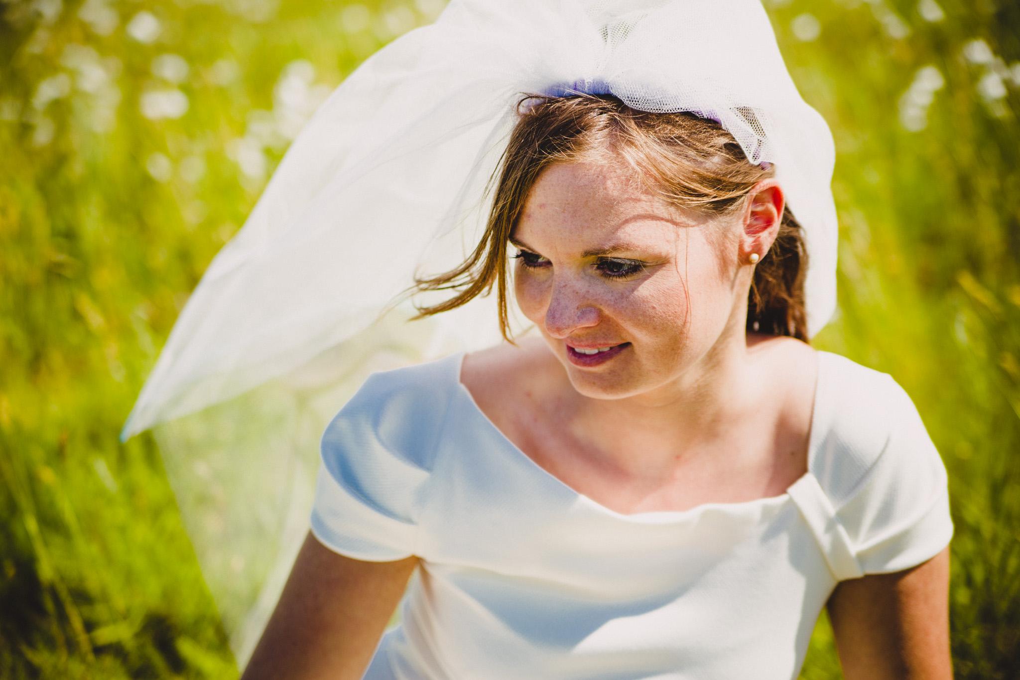 fotograaf veendam trouwfotografie bruid portret