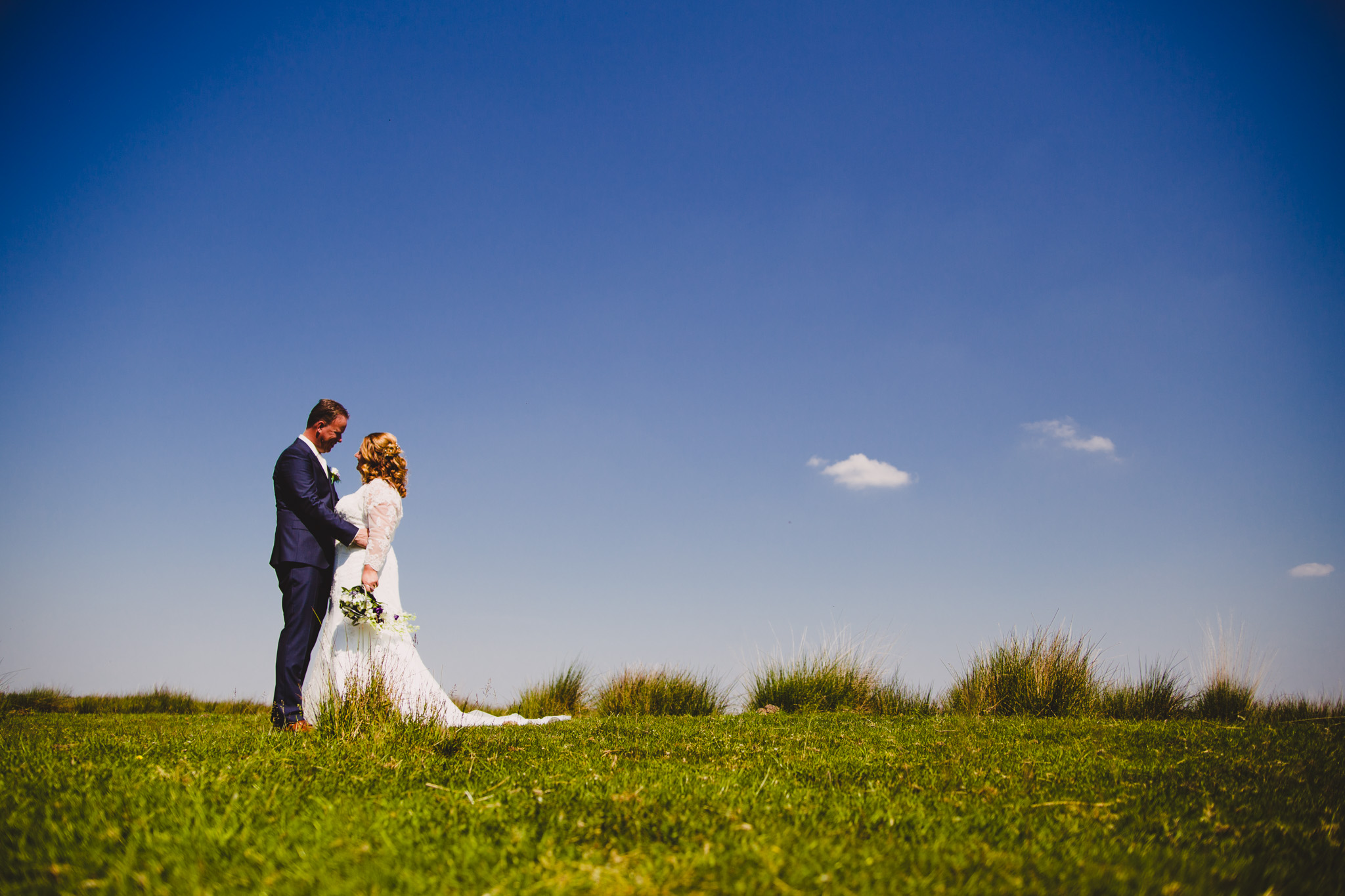 fotograaf veendam trouwfotografie bruid bruidegom
