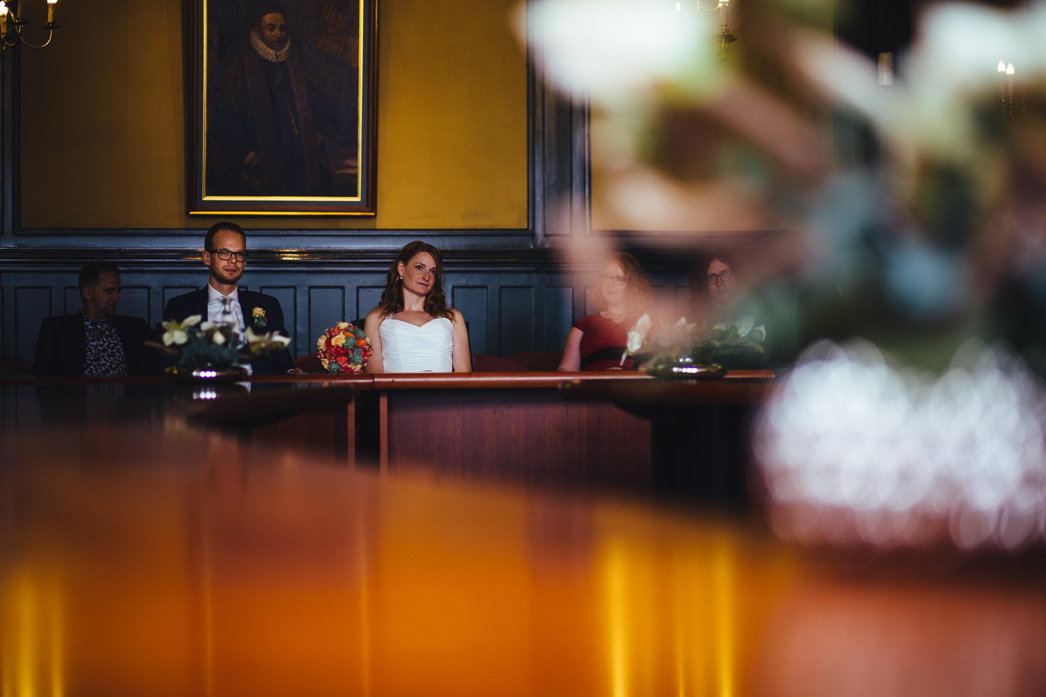 bruiloft Winschoten ceremonie
