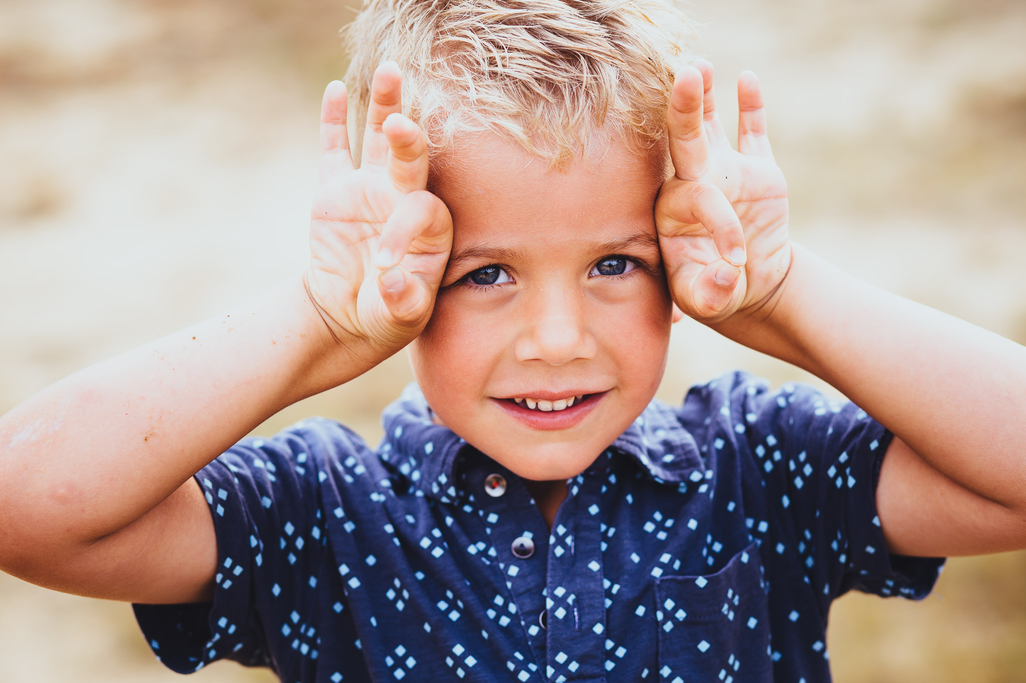 origineel portret fotograaf jongen