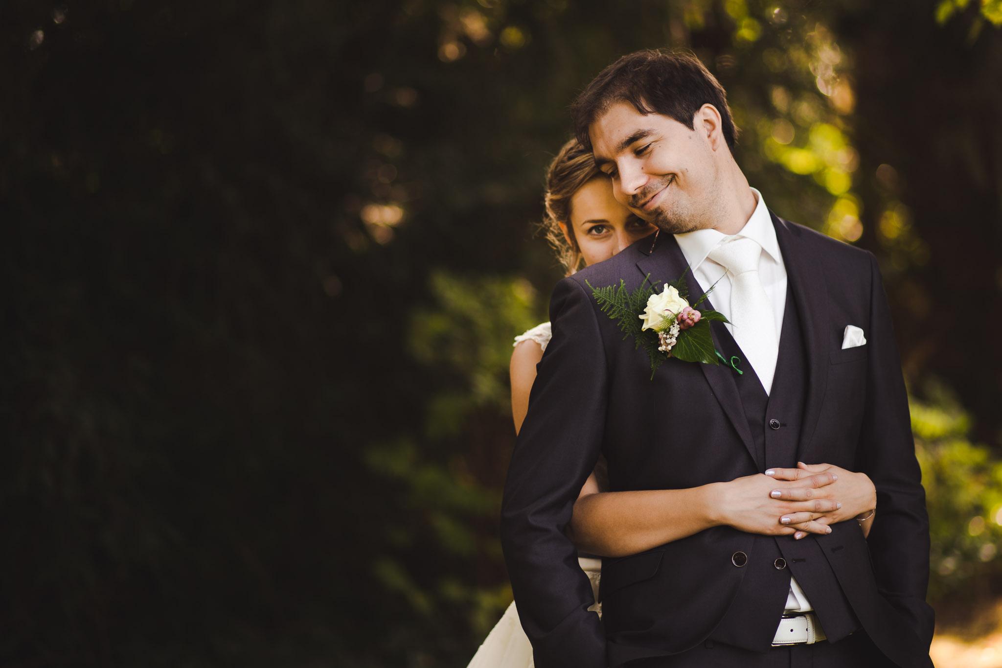 trouwfotograaf 0bruid en bruidegom portret