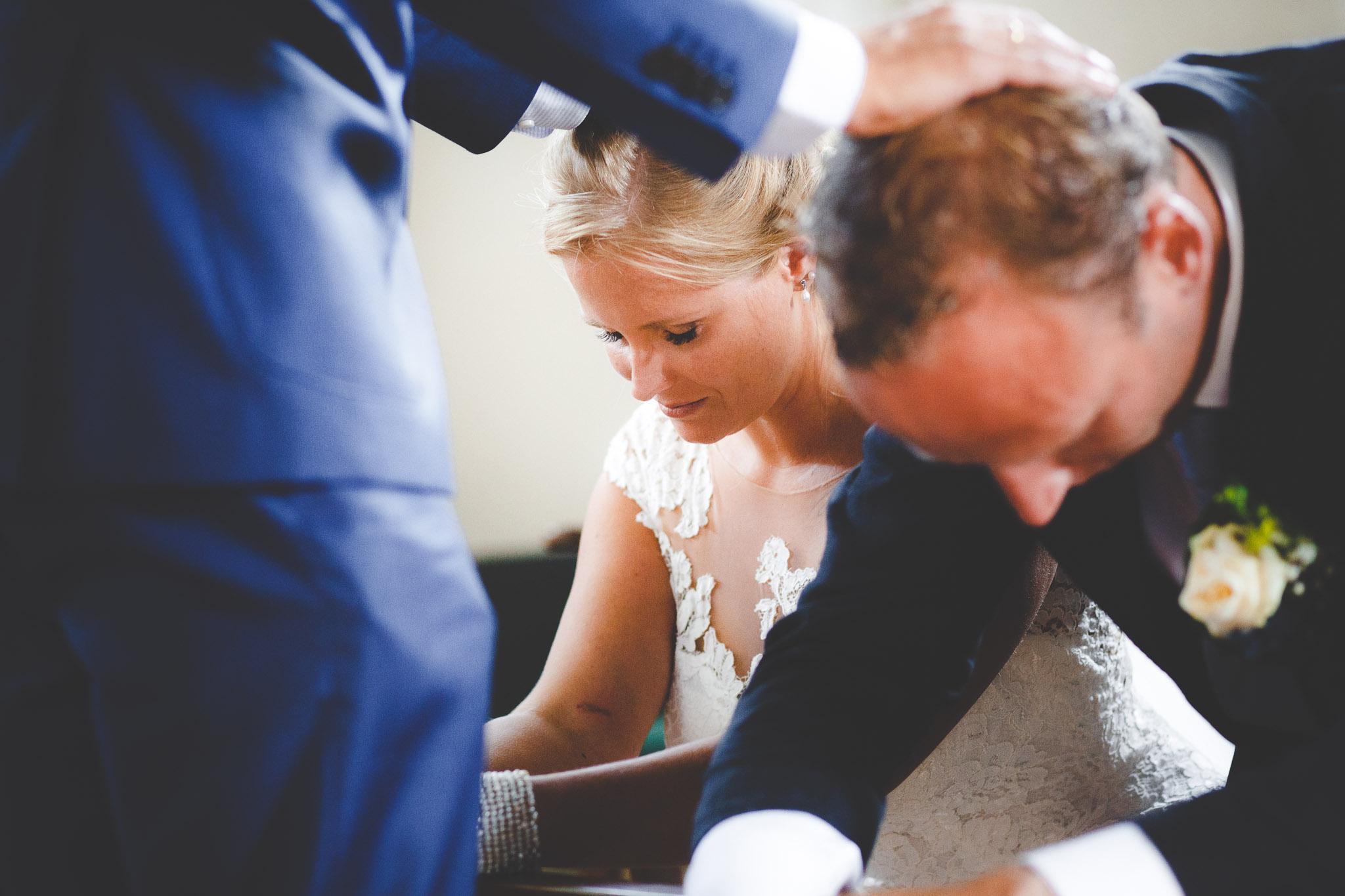 trouwfotograaf zegening kerk groningen