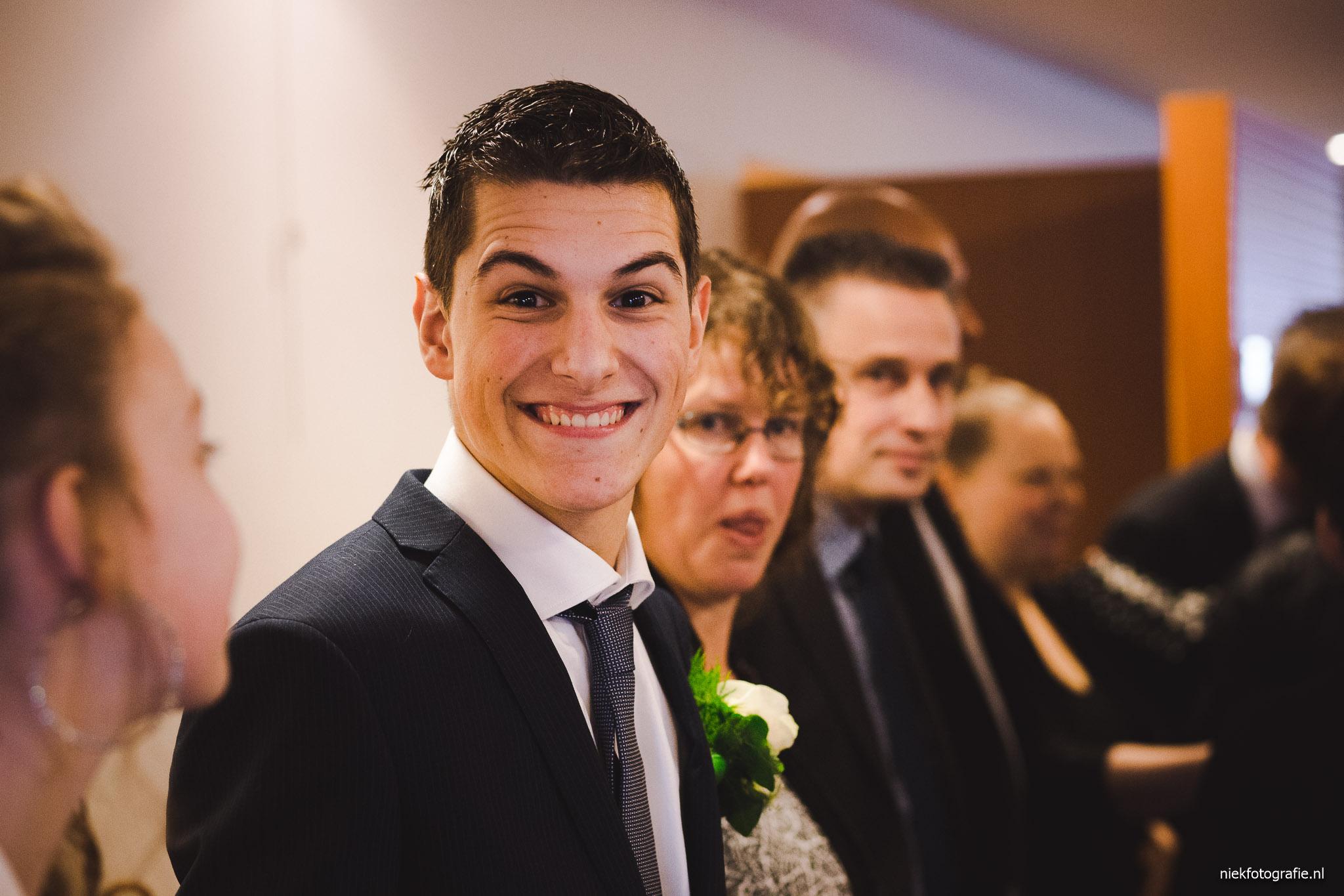 trouwreportage grootegast groningen bruidegom felicitaties
