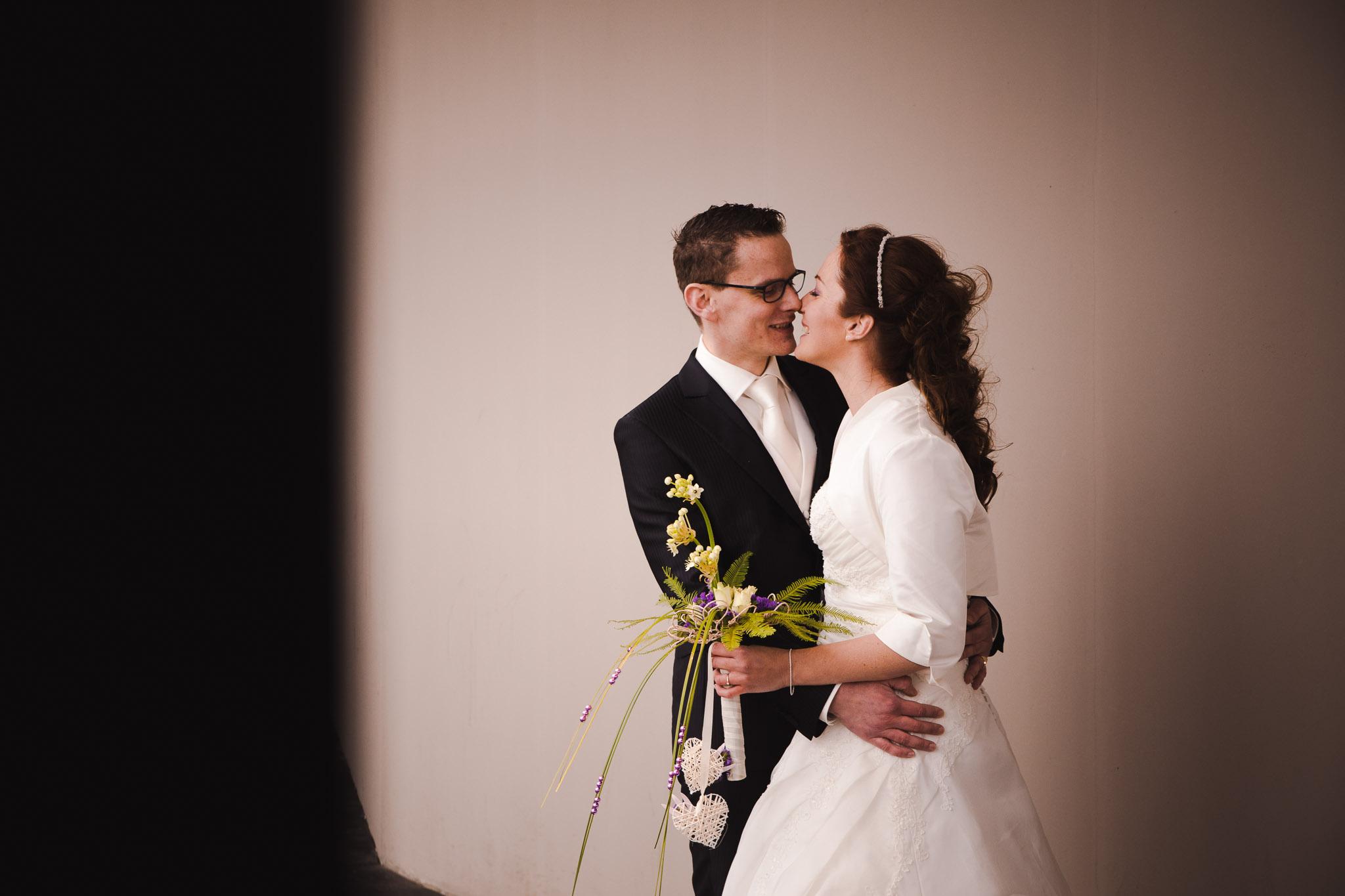 bruiloft veendam reportage anouk hilko portret