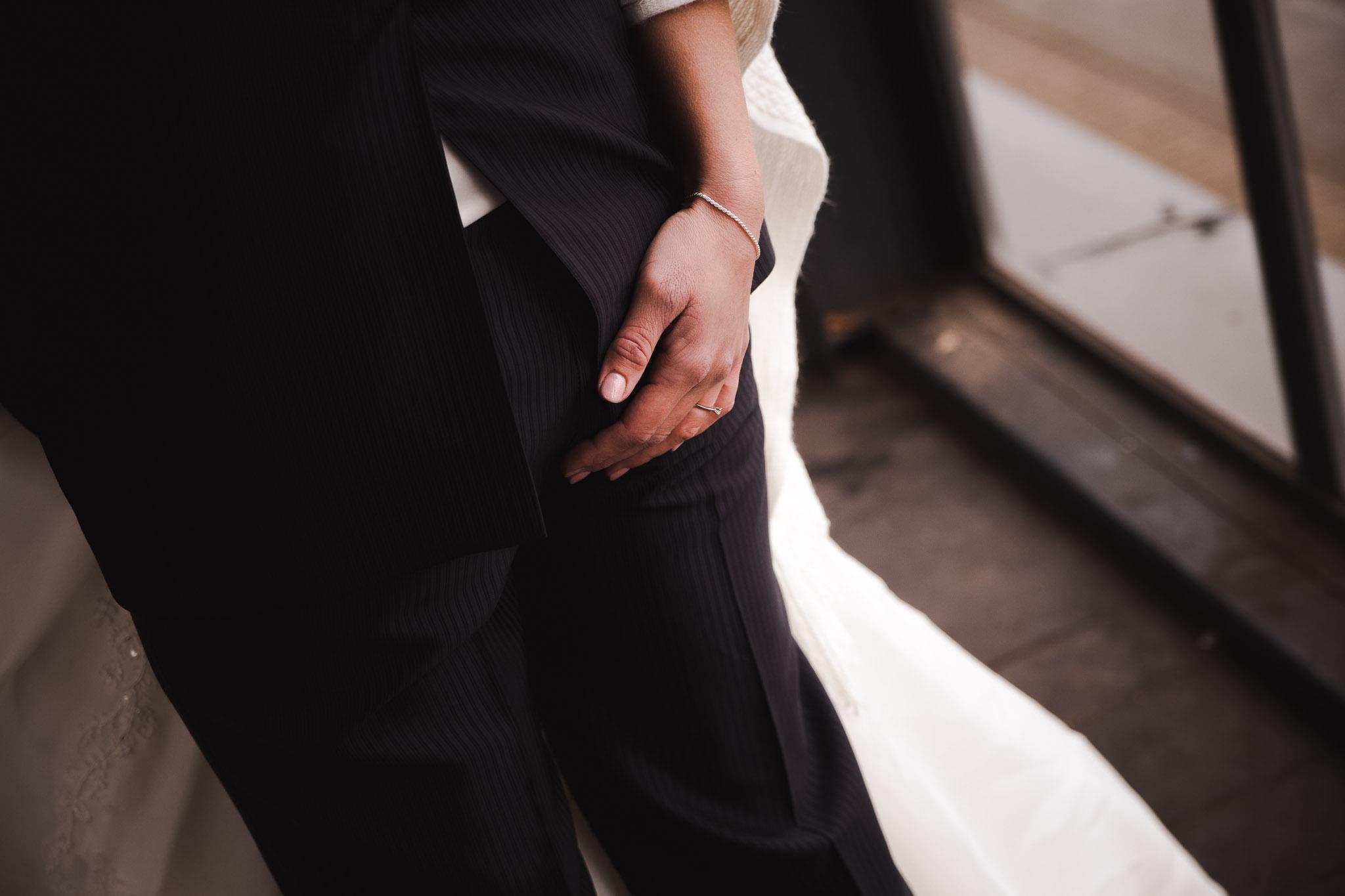 bruiloft veendam reportage anouk hilko achterkant