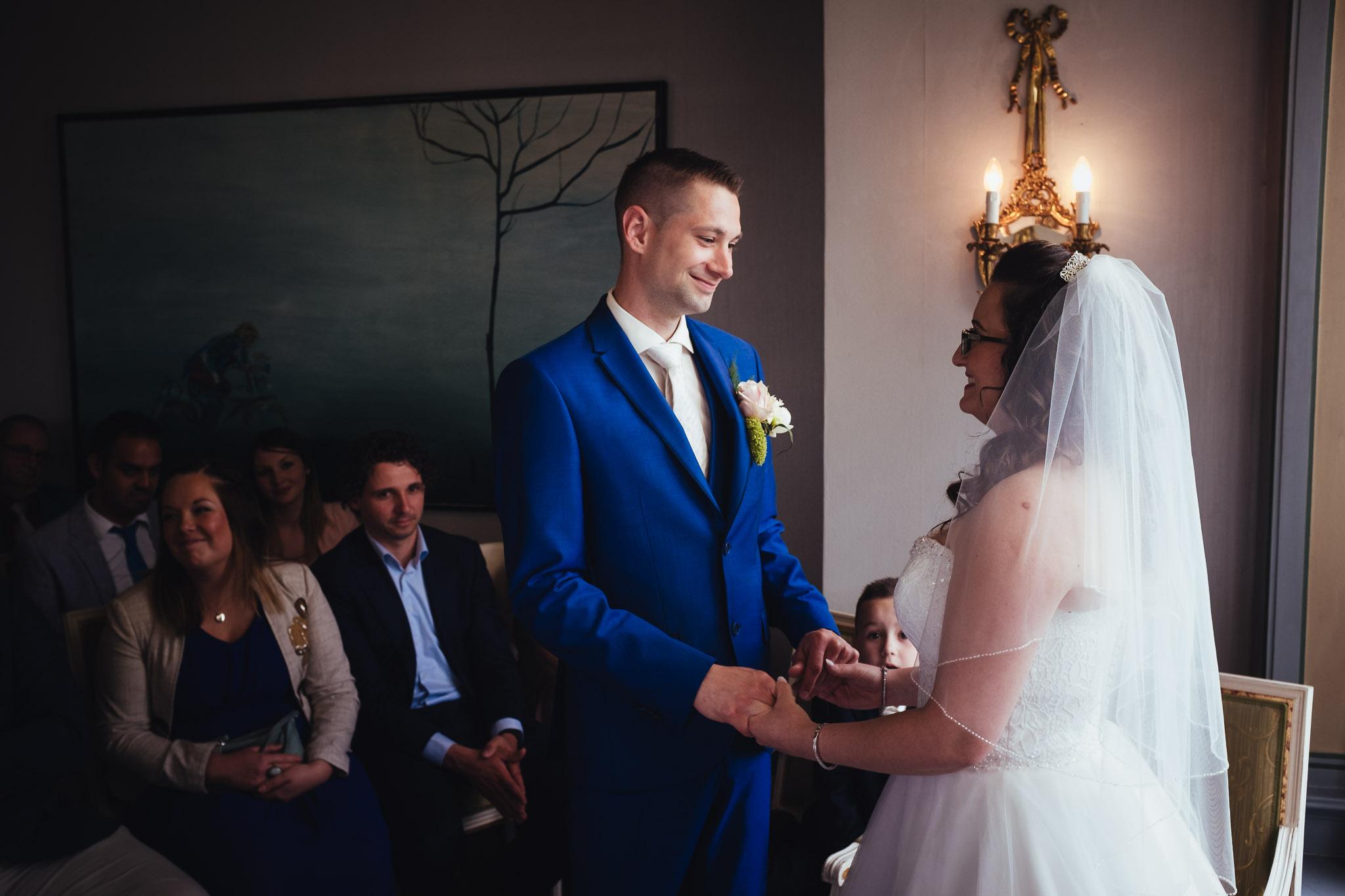 bruiloft op landgoed westerlee in groningen met dilek en tim jawoord
