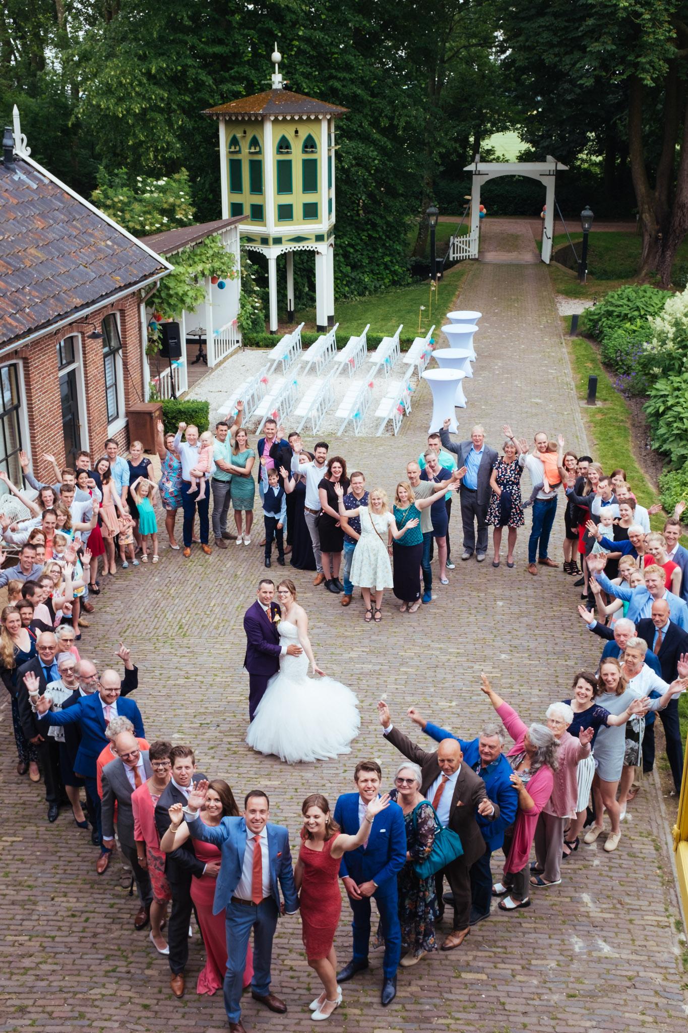 trouwreportage bruiloft Allersmaborg Groningen